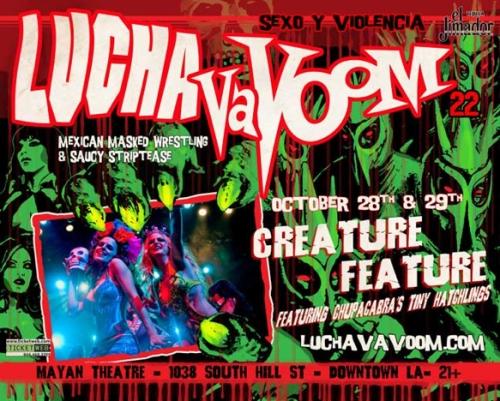 Lucha-HalloweenLA-Poster